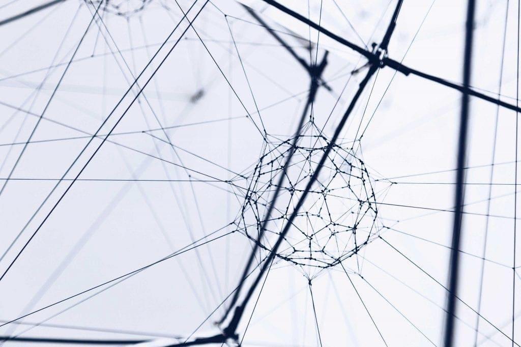 Red tecnológica que evidencia las sinergías creadas en el ecosistema proptech.