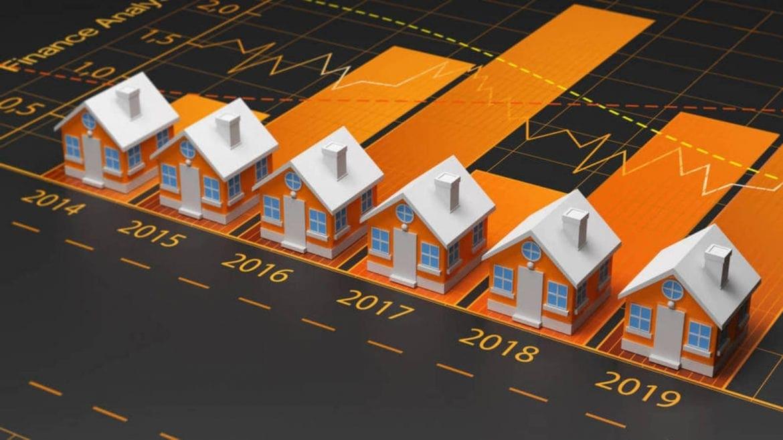 El precio de la vivienda bajará el 3% en 2020, el 5,5% en 2021 y el 5% en 2022