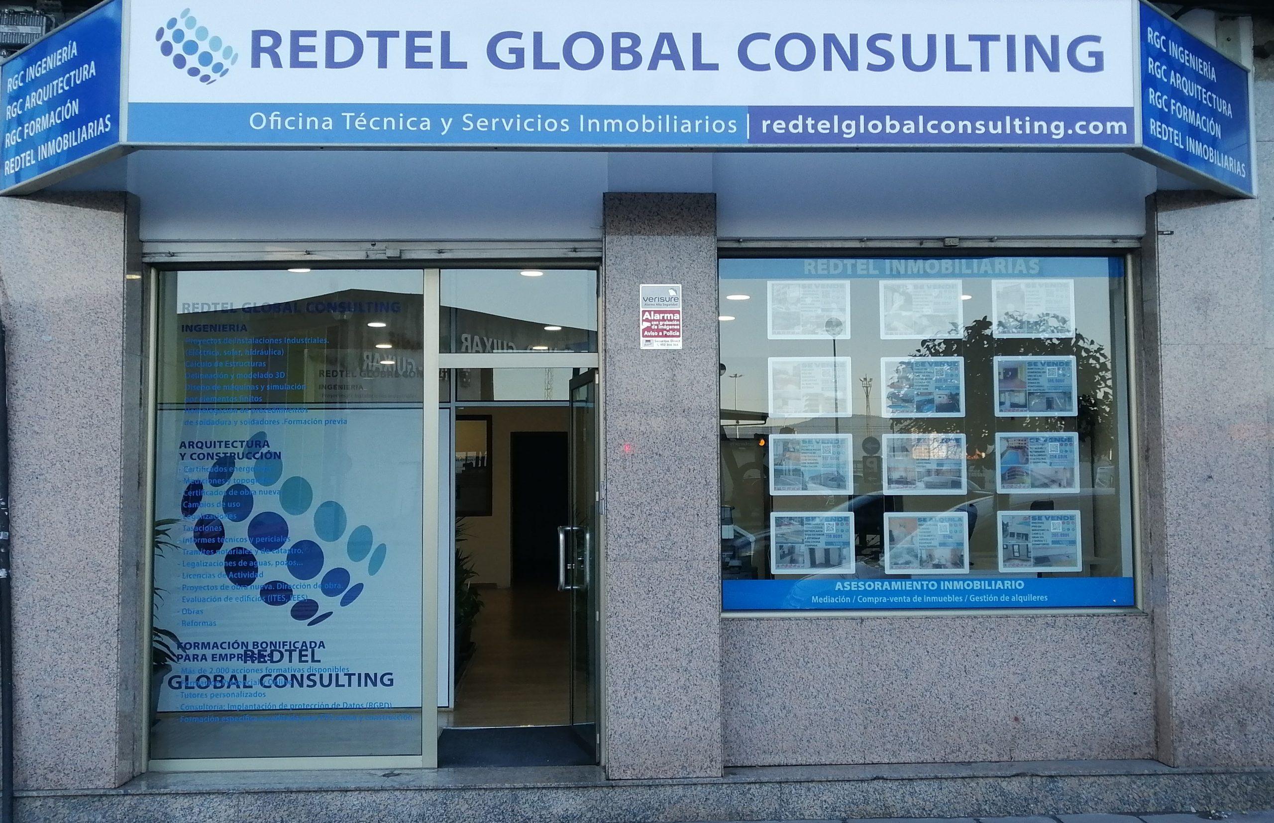 Fachada Oficina Redtel