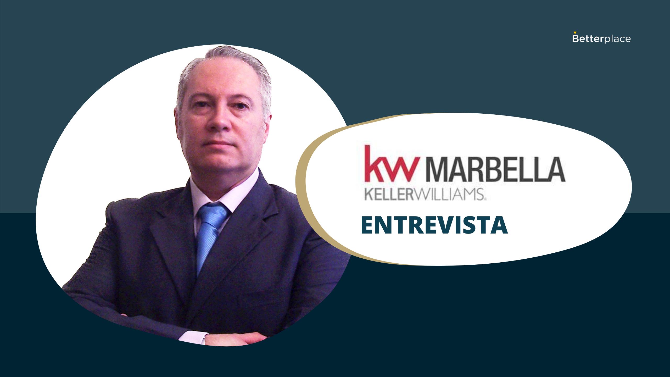 Javier Aguadero, agente de Keller Williams Marbella, consigue más del 60% de sus captaciones gracias a Betterplace