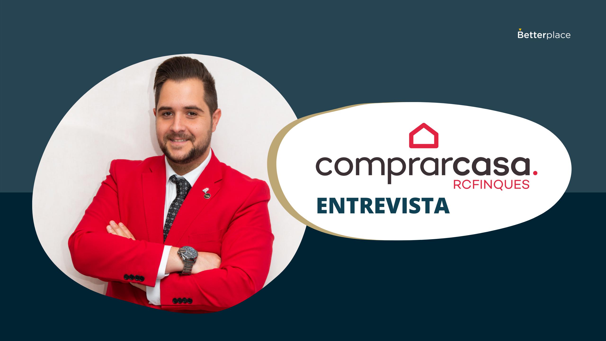 Todos los agentes de Comprarcasa RC Finques Sabadell apuestan por Betterplace